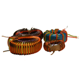 Pulse transformers and inductors