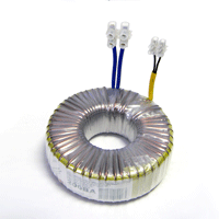 Power transformers for halogen lamps.